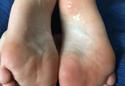 Foot porn Got a little bit messy...oh well  -zzwljgvuei431