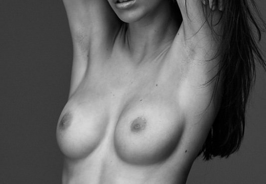 White and black Totally topless-LN7mcXt